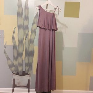 Lightweight Lavender Formal Dress Size Small